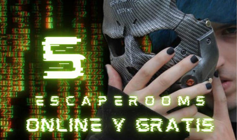 5 escape rooms online gratis